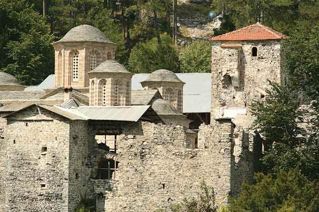 Старый Монастырь св Дионисия Олимпского